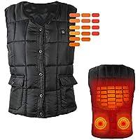 加熱チョッキ、防寒保温、USB充電、電熱ベスト、衣類、冬、アウトドア、水洗い可能、男女適用