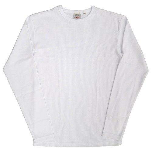 AVIREX デイリー クルーネック ロングスリーブ Tシャツ #6153481(旧品番#617395)Lホワイト