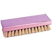 Weiler 804-44024 8 in. Square End Scrub Brush, 1-.13 in. White Tampico Fill