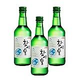 チャミスル 韓国焼酎 【360ml×3本】