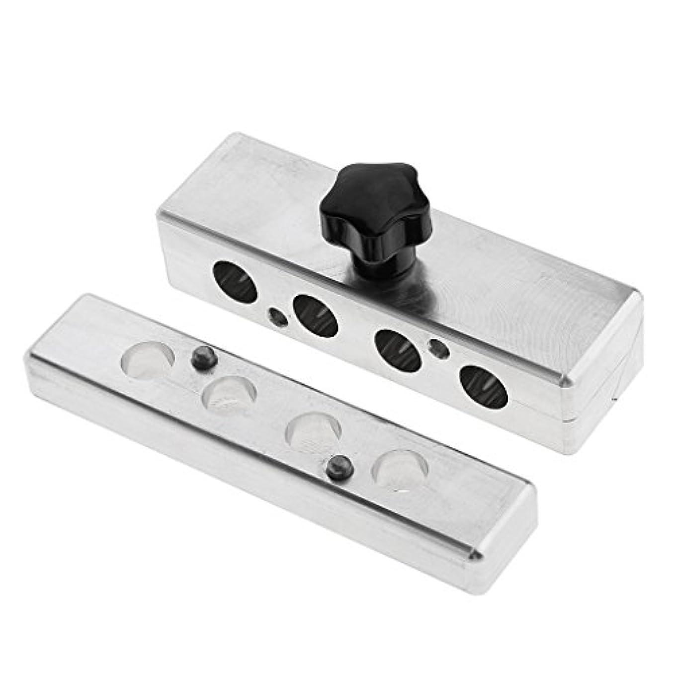 盆地傘信条Toygogo 9mmイーグル口型の口紅型のリップスティック型のDIYクリームメーカー4穴 - 9mm4穴