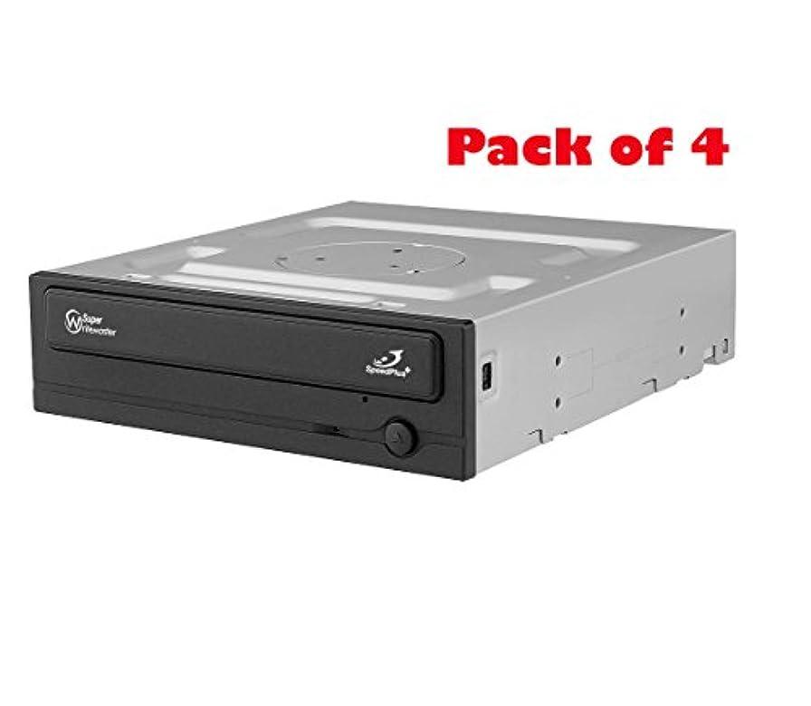 気楽な隠す突き出すSamsung電子機器( 4パック) SATA 1.5 gb-s光学ドライブ、ブラックsh-224db / Bebe