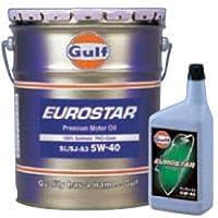 Gulf(ガルフ) エンジンオイル EUROSTAR 5W-40 20L