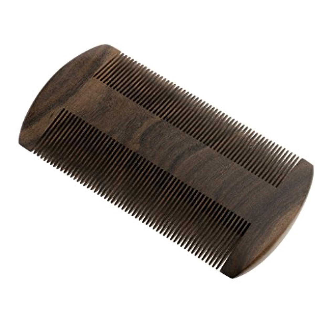 SM SunniMix ヘア櫛 ヘアブラシ ヘアコーム ウッド 静電気防止 高倍密度の歯 チャケートプレト 携帯便利