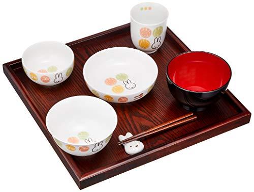 kanesho toki ミッフィー イングレース食器 円 まどか お食い始めセット 443721