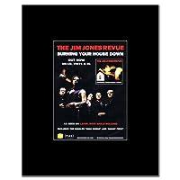 JIM JONES REVUE - Burning Your House Down Mini Poster - 13.5x10cm