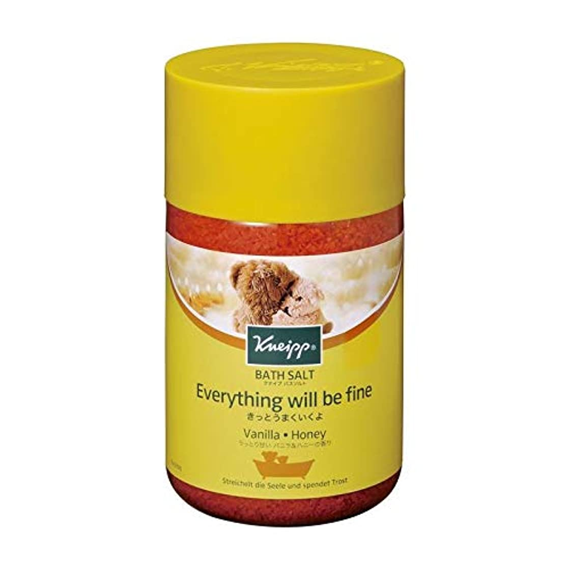 とても竜巻違反するクナイプ バスソルト バニラ&ハニーの香り 850g 2個セット