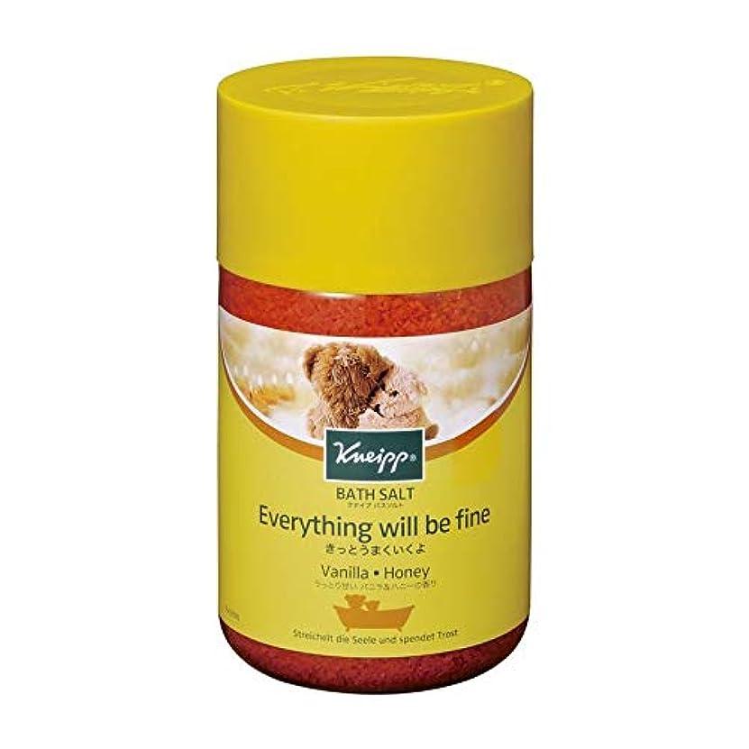 熱帯の保持リスキーなクナイプ バスソルト バニラ&ハニーの香り 850g 2個セット