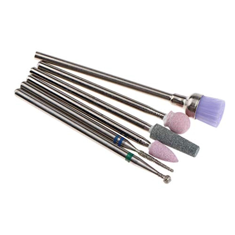 粘性ののためダイジェストアクリルネイルツール 電気 ネイルドリルビット ネイルアートツール 11サイズ選ぶ - #4