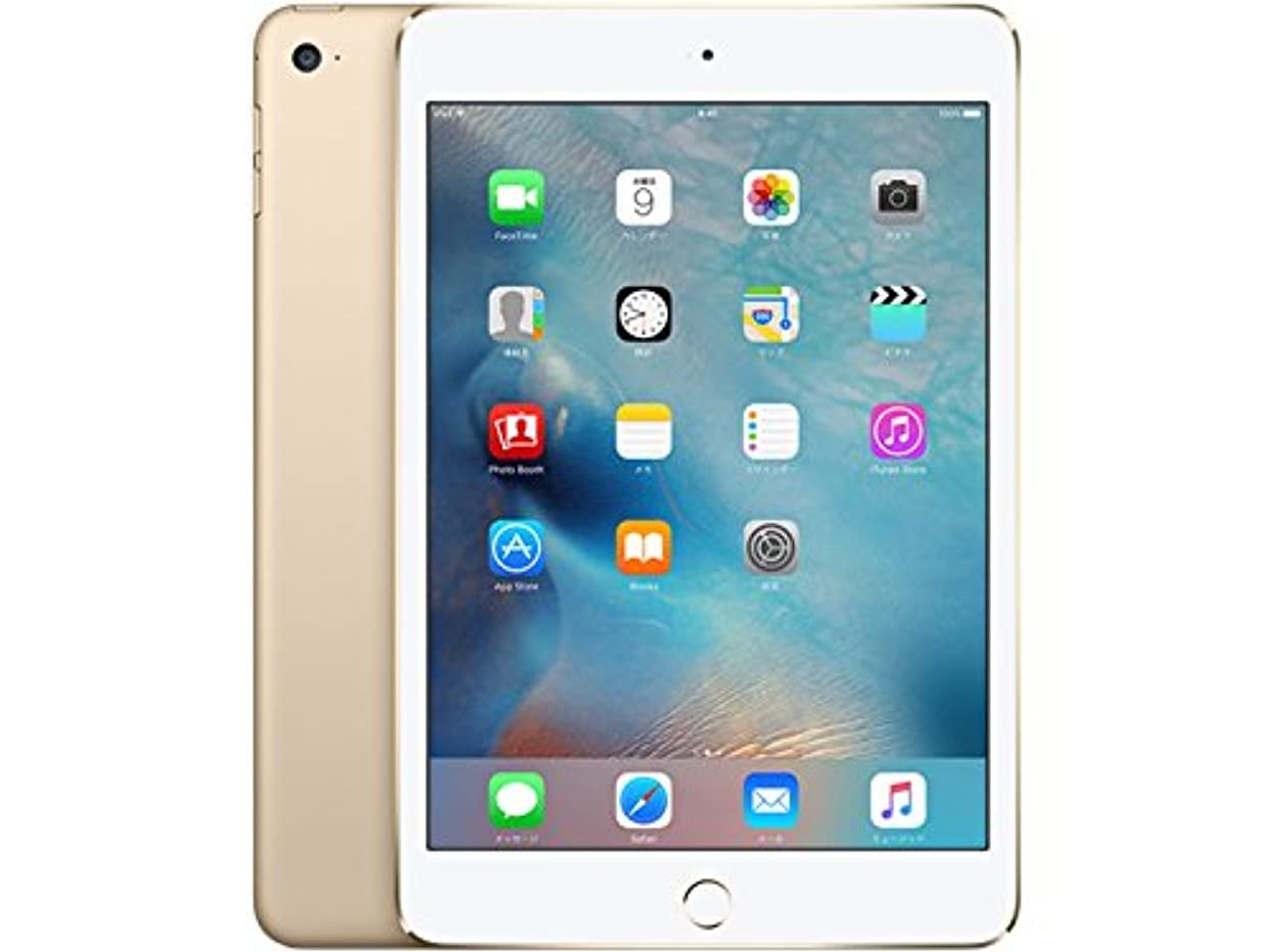 古風な参照あたたかいApple iPad mini 4 Wi-Fiモデル 32GB ゴールド MNY32J/A
