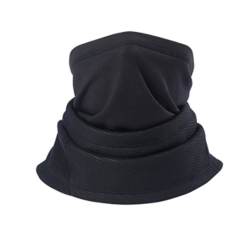 ネックウォーマ フェイスマスク 冬用 防寒 防風 防塵 伸縮素材 自転車用マスク フリサイズ 男女兼用