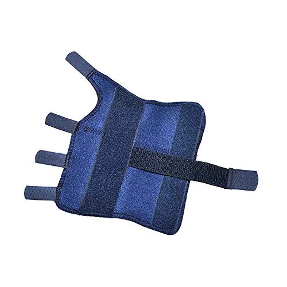 触覚おボックスZYL-YL 手首関節フィクサー手首関節ストラップコレクションリストストラップ手首サポートスプリント手首のサポート (Edition : Left, サイズ : L)