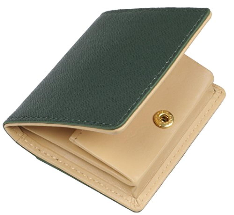 小銭入れ BOX 型 2色 の カラー コンビネーション 牛革 製 8417