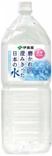 伊藤園 磨かれて、澄みきった日本の水 2L×6本