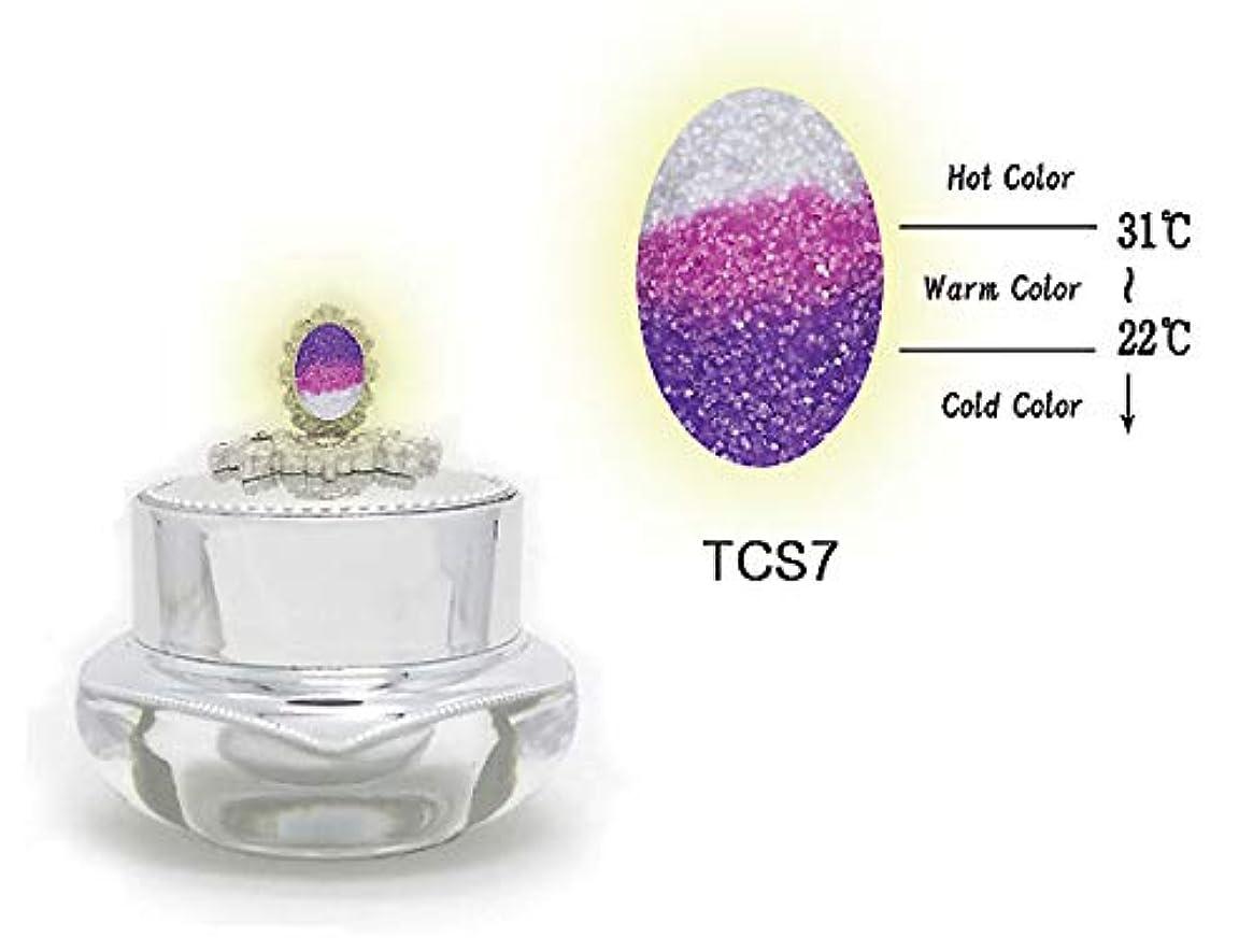 偽善寄り添う内側KENZICO (ケンジコ) Triple Sugar Gel プロ用5g 【TCS7】 3つの色に変わる夜光ジェル トリプルシュガージェル