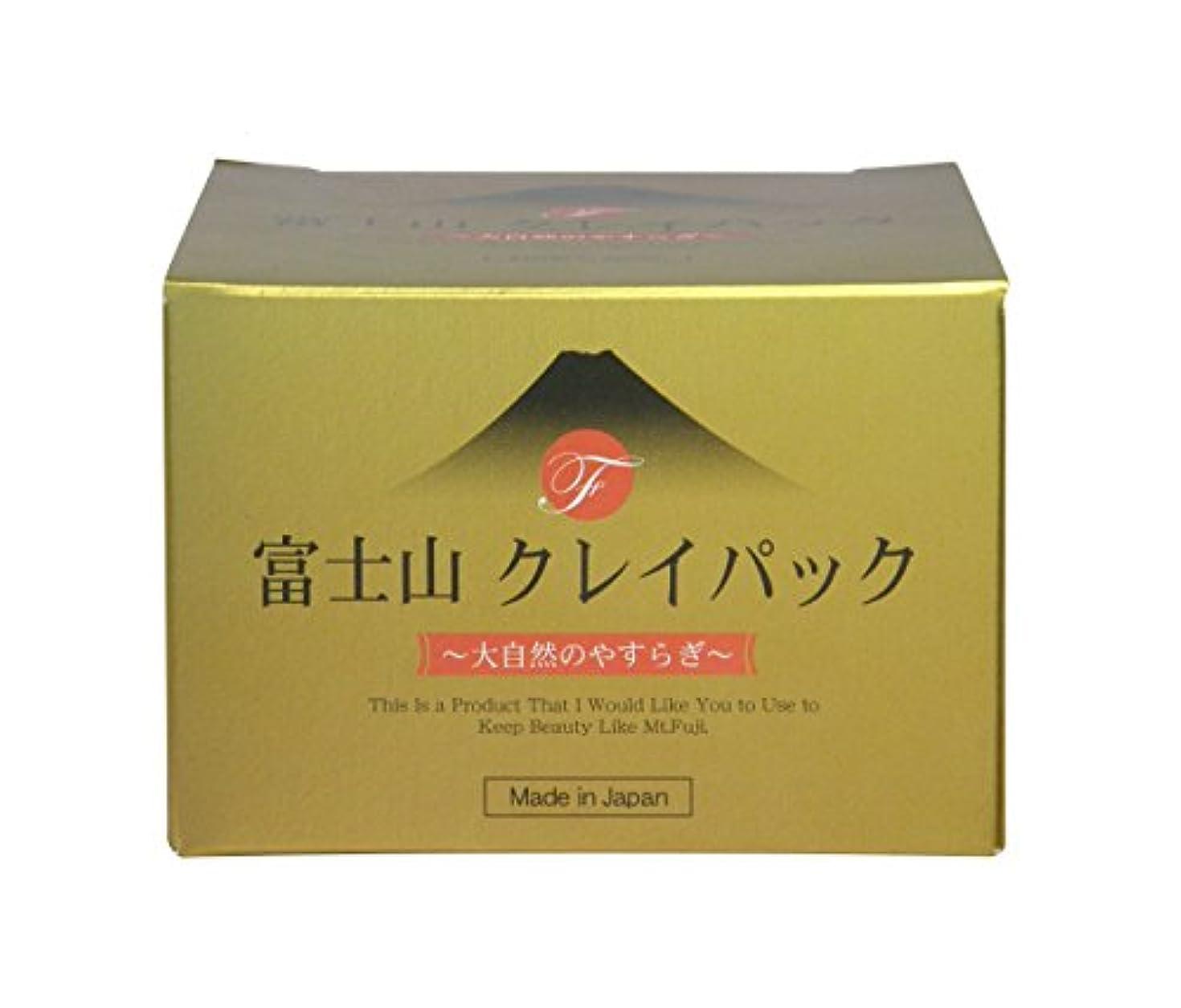 車試してみるアーク富士山 クレイパック 130g