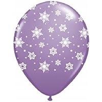 loonballoonスノーフレークFrozenライラックパープルSnow Flake ( 6 ) 11