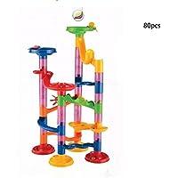 Aurorax FPlastic House Building Blocksおもちゃ教育玩具幼児幼児インテリジェンスおもちゃ ブラック LZP60902150