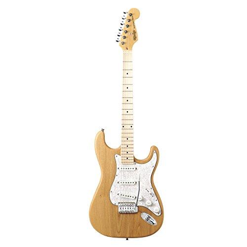 K-GARAGE STタイプギター 3S ピックアップ アッシュボディー KST-200 ナチュラル