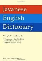 Javanese English Dictionary