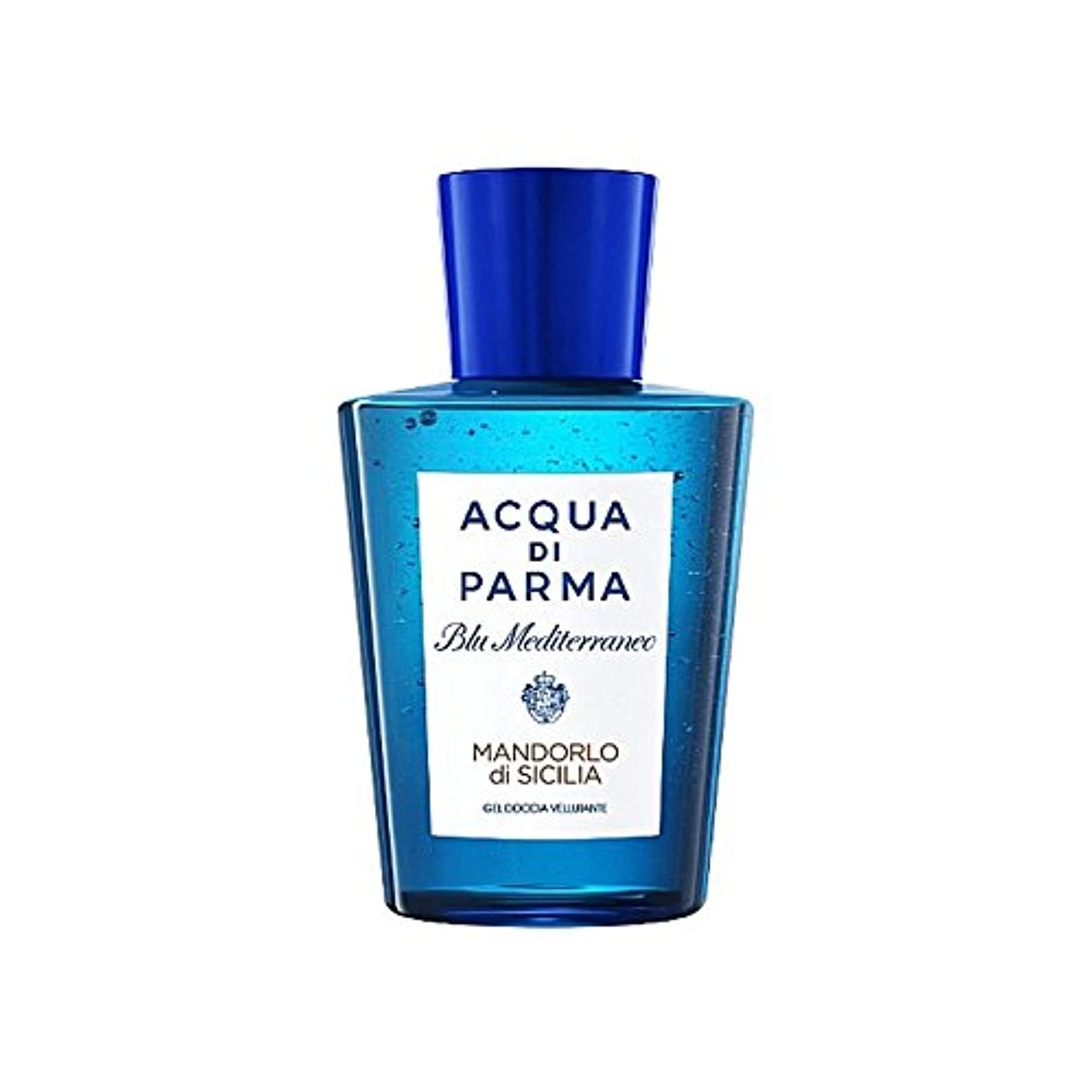 スクワイアやる弁護Acqua Di Parma Blu Mediterraneo Mandorlo Di Sicilia Shower Gel 200ml - アクアディパルマブルーメディマンドルロディシチリアシャワージェル200 [並行輸入品]