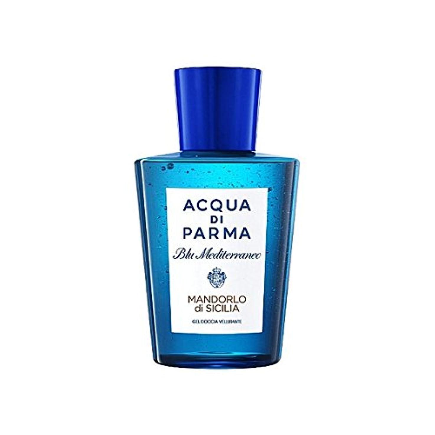 知覚できるジャンピングジャック聴衆Acqua Di Parma Blu Mediterraneo Mandorlo Di Sicilia Shower Gel 200ml - アクアディパルマブルーメディマンドルロディシチリアシャワージェル200 [並行輸入品]