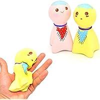 dacawin ( TM )絶妙な楽しいキュートSunny Doll Scented SquishyチャームSlow Risingシミュレーションおもちゃ Da-001250