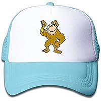 子ども グリッドキャップビッグ 猿おしゃれな 軽量 メッシュ帽子 オスとメス 通用