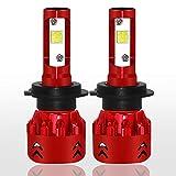 DieselAutoH7 LED ヘッドライト 9600LM 60W 6000Kホワイト フィリップス ZES チップ搭載 DC12V-24V 車検対応 2個セット 1年保証 …