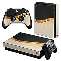 igsticker Xbox One X 専用 スキンシール 正面・天面・底面・コントローラー 全面セット エックスボックス シール 保護 フィルム ステッカー 004780