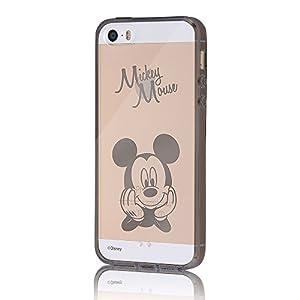 レイ・アウト iPhone SE / iPhone5s / iPhone5 ケース ディズニー ハイブリッド(TPU+ポリカーボネイト)ケース ミッキーマウス RT-DP11U/MK