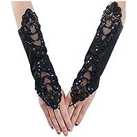 Legou Women Fashion Lace Wedding Dress Bridal gloves