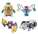 ヘボット! くみかえ合体シリーズ 全4種