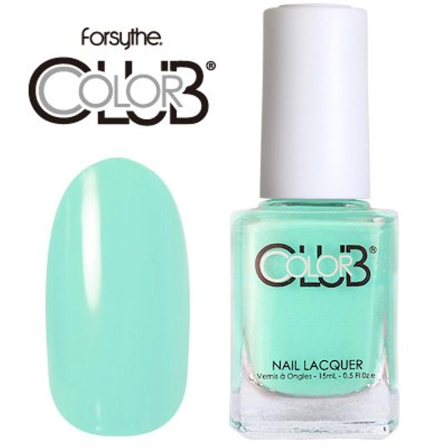 音楽を聴く意気揚々歌手フォーサイス カラークラブ 954/Blue-ming 【forsythe COLOR CLUB】【ネイルラッカー】【マニキュア】