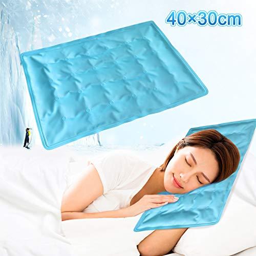 Kodi ひんやり枕 クールマット 枕 ソフト ジェルマット 冷却 冷感 涼...