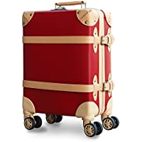 【Recess_リセス】 拡張 ファスナー ストッパー付き トランク 超軽量 スーツケース 機内持ち込み キャリーバッグ キャリーケース コインロッカー ダブルキャスター 8輪 TSAロック