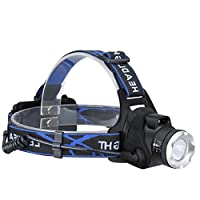 HeFuo LEDヘッドライト ヘッドランプ LED 防水 充電式 90°調節可能 軽量型 徒歩 登山 釣り 防災 作業灯 プロの夜釣り灯 工事 高輝度 軽量 IPX4防水