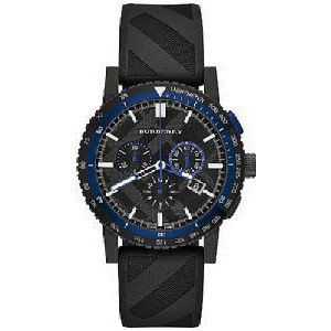 腕時計 バーバリー Burberry The New City Sport Rubber Chronograph Men...