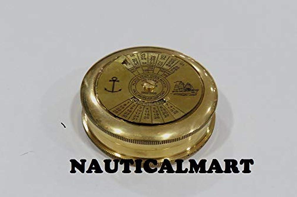 お客様劣る致命的なNauticalMart Brass Antique Halloween Black Friday Gift Calendar Compass