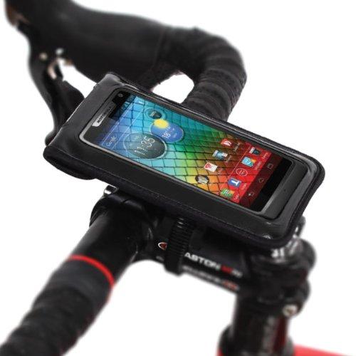 [正規品] 【BM WORKS】SLIM3-ZIP (M) 自転車用 スマートフォン ホルダー iPhone 5・4S・4・3GS, Galaxy S3...