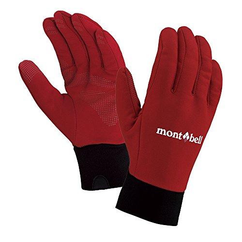 (モンベル) mont-bell ウィンドストッパーR トレッキンググローブ Women's 1118185 PAPRI パプリカ M
