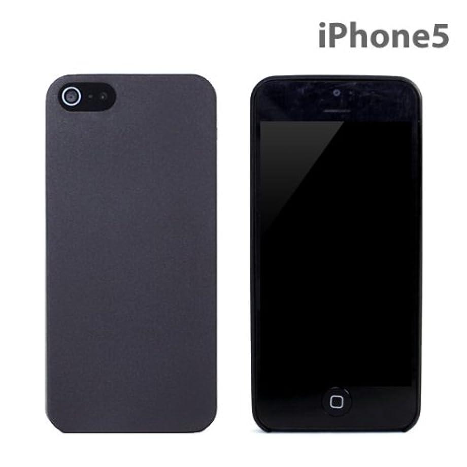 効率的にズボンクラシカル藤本電業 iPhone5 専用スーパーフェザーケース スモーク J-I5-05SM