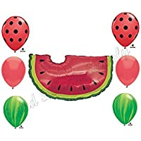 WATERMELON PICNIC Birthday Balloons Decoration Supplies Party Cookout by Anagram