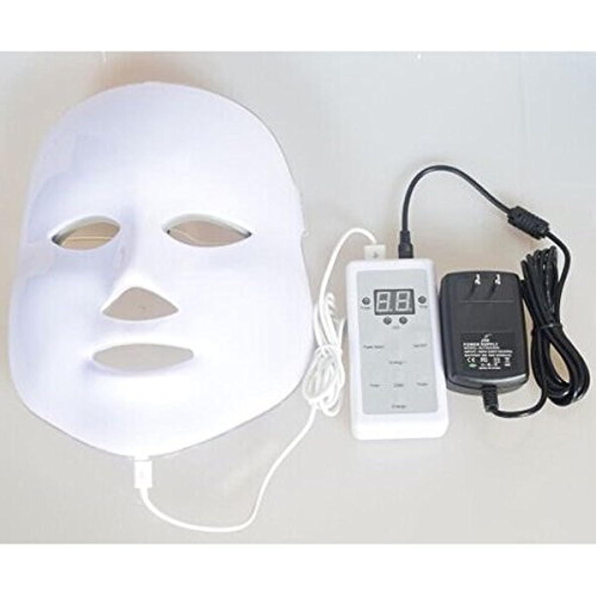 貯水池機械毒液LED美顔器 7色 美顔マスク 美容 たるみ ほうれい線 美肌 ニキビ対策 コラーゲン生成 美白 エイジングケア