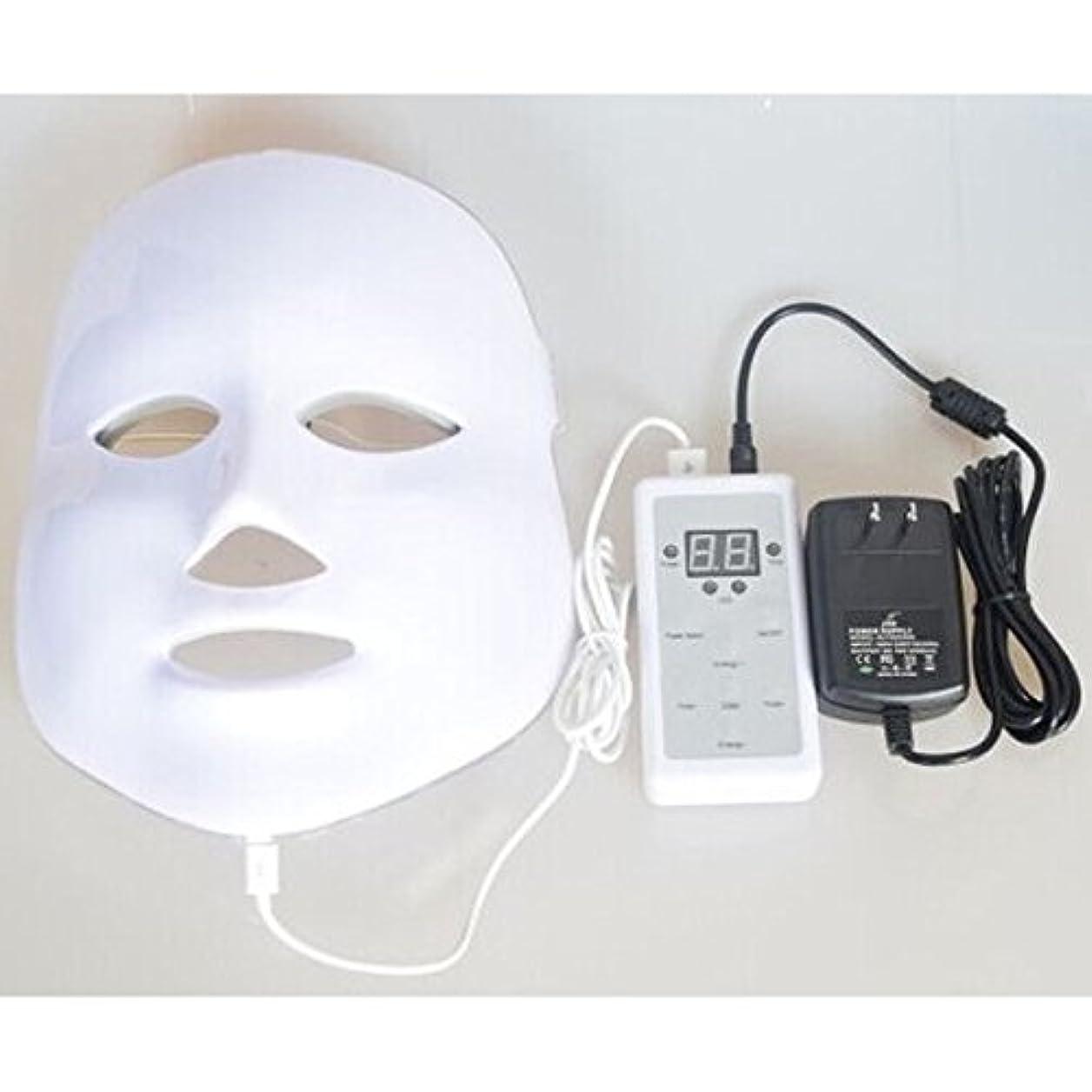 豊かな時計乱気流LED美顔器 7色 美顔マスク 美容 たるみ ほうれい線 美肌 ニキビ対策 コラーゲン生成 美白 エイジングケア
