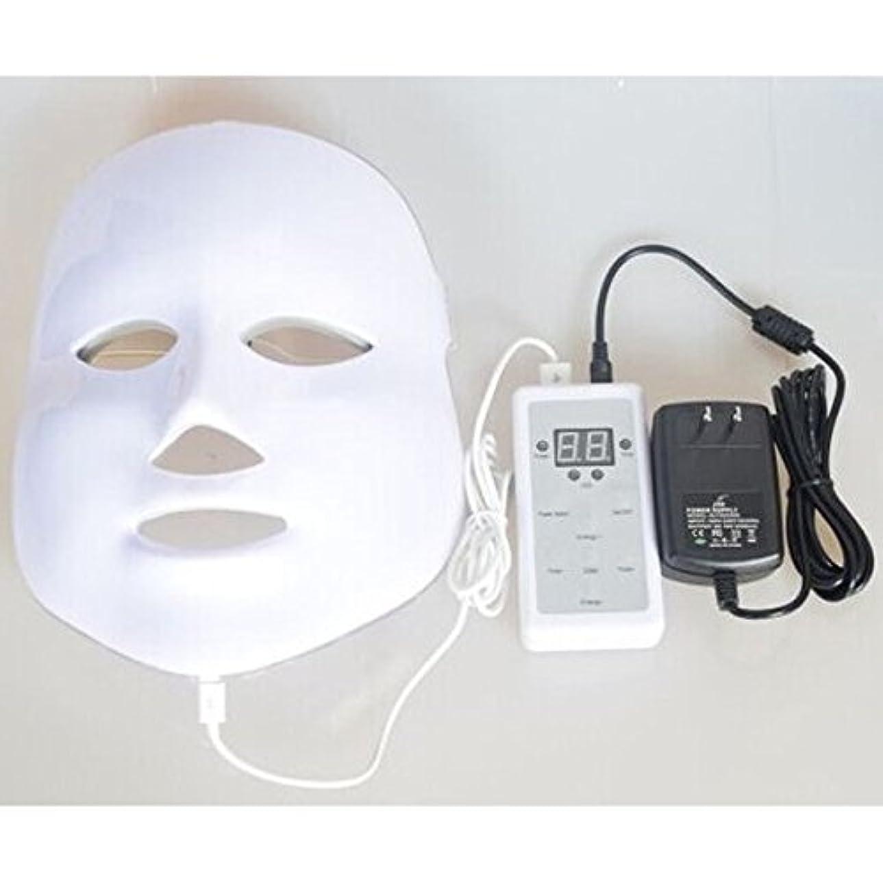 ビルダー区画ミネラルLED美顔器 7色 美顔マスク 美容 たるみ ほうれい線 美肌 ニキビ対策 コラーゲン生成 美白 エイジングケア