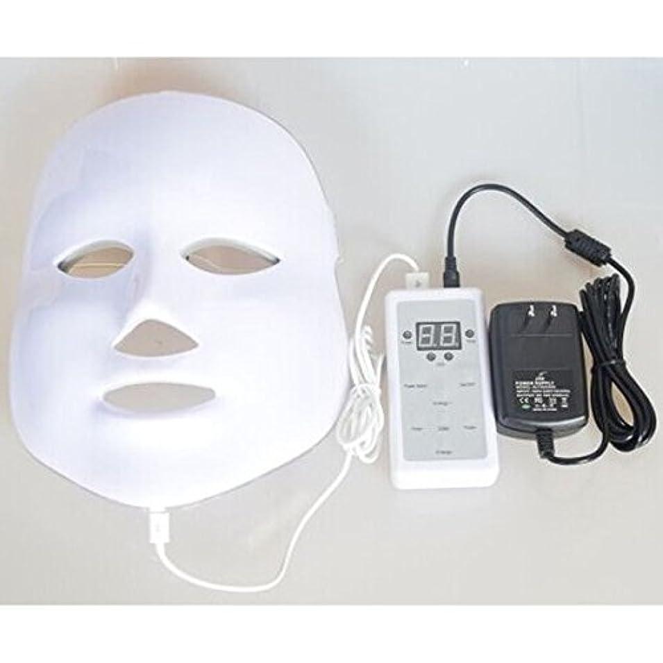 導入するドル削減LED美顔器 7色 美顔マスク 美容 たるみ ほうれい線 美肌 ニキビ対策 コラーゲン生成 美白 エイジングケア