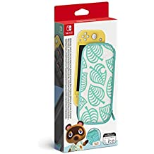 Switch Lite Carry Case (Animal Crossing: New Horizons Ed.) & Screen Protector - Nintendo Switch