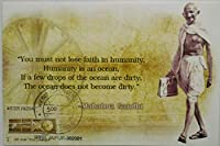 You must not lose faith in humanity Humanity is an ocean Maxim Card