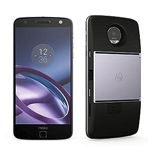 Motorola(モトローラ)SIMフリースマートフォン Moto Z (ブラック / 64GB / Mods ブラック プロジェクター 付)